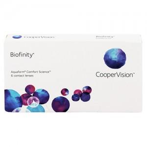 Контактные линзы семейства Biofinity